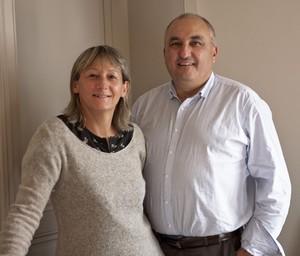 Guy Palluy et Valérie